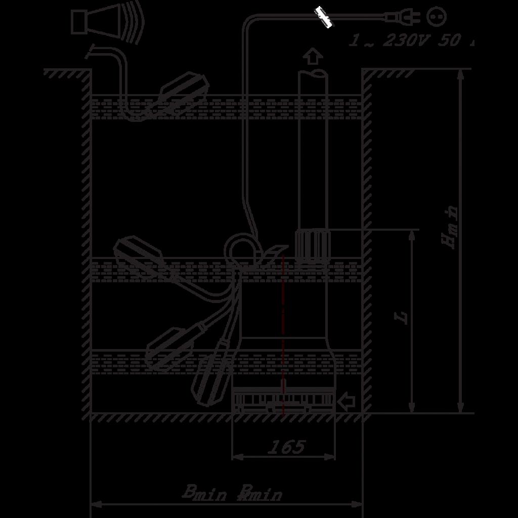 Насос можно устанавливать для постоянной работы в автоматическом режиме в подтапливаемых помещениях (гаражах, подвалах, цокольных этажах) или переносить с места на место.